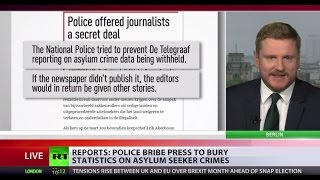'Misleading public'  European police reportedly bribe press to bury asylum seeker crime stats