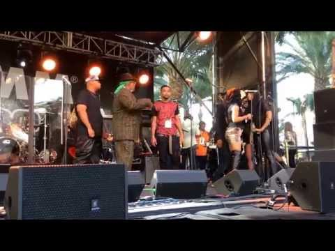 Rehearsal performance by George Clinton, Parliament Funkadelic at The NAMM GoPro Stage - Part 3 of 5