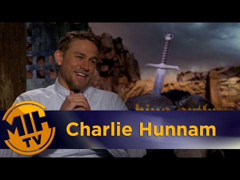Charlie Hunnam King Arthur: Legend of the Sword Interview