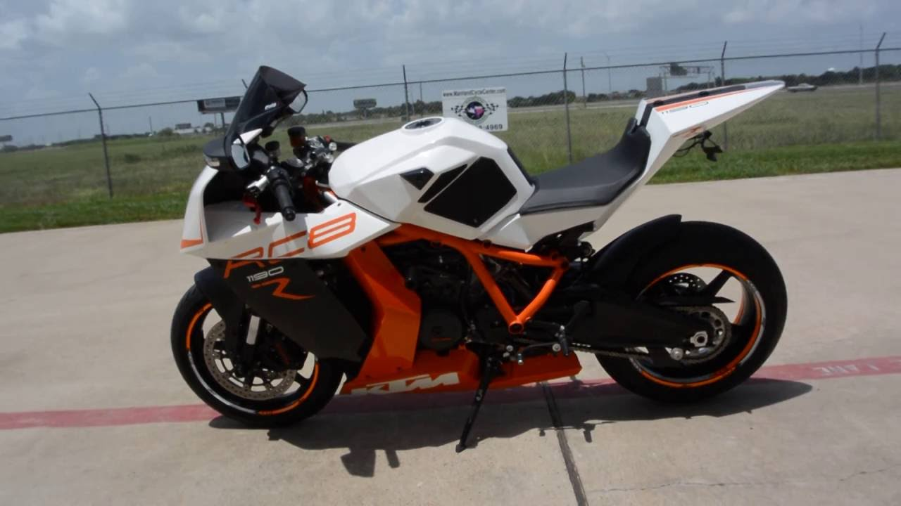 for sale $9,999: pre owned 2013 ktm 1190 rc8 r - youtube