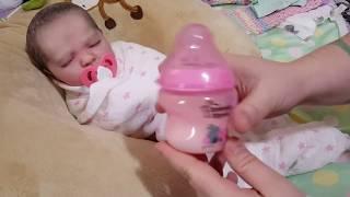 Morning Routine! Feeding Baby! Nasty Poo...