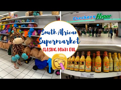 CHECKERS SUPERMARKET SHOP WITH ME // CLOSING DOWN FAIL | Johannesburg, South Africa