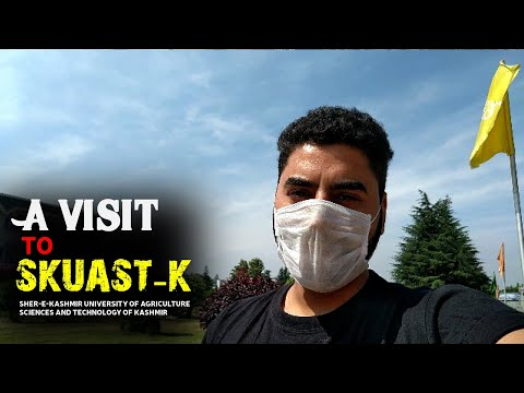 A VISIT TO SKUAST-K (Sher-Kashmir University of Agriculture Science and Technology of Kashmir) ❤️
