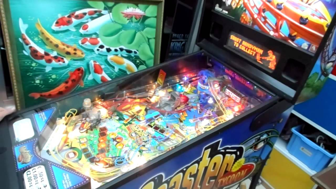 Download Stern rollercoaster tycoon pinball play