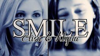 eliza taylor alycia debnam carey   smile secret santa