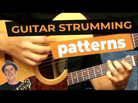 acoustic guitar strumming patterns pdf
