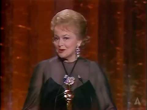 Margaret Booth Receives an Honorary Award: 1978 Oscars