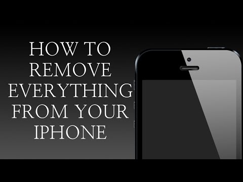 Erase Everything On iPhone 2016 - Remove Everything From Your iPhone