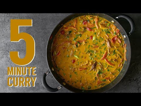 EASY VEGAN SAMLA CURRY FOR WEIGHT LOSS | THE HAPPY PEAR
