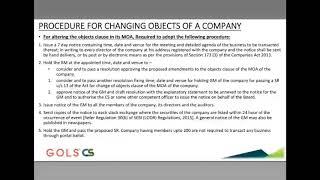 Professional Advance Company Law