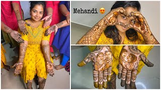 Our Love story in my Mehandi ❤️😍🔥