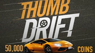 Thumb Drift Gameplay | Unlocking the 50,000 car (Hamburghini)