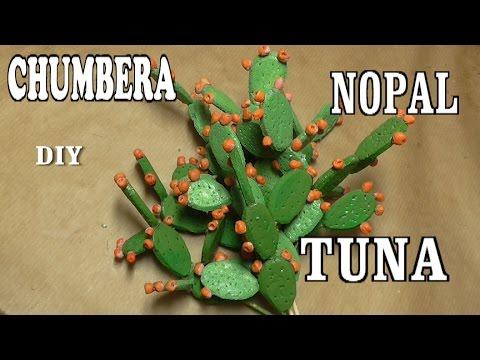 Diy Chumberas Nopales Tunas Para El Belén Realismo Para Tu Nacimiento Prickly Pear Cactus
