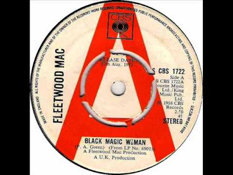 Fleetwood Mac - Black Magic Woman, Stereo 1968-73 CBS 45 record.