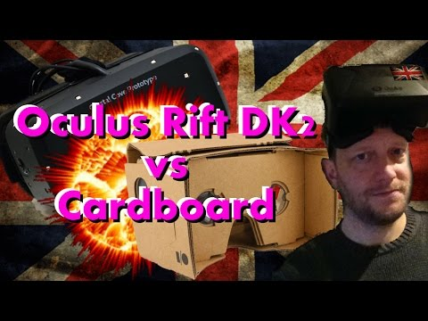 Oculus Rift DK2 vs Google Cardboard (Android) by UKRifter