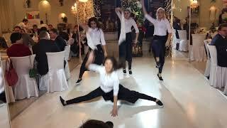 танцевальный коллектив на свадьбу, флешмоб, Розыгрыш бузовой