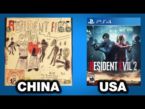 Why Some Games Are Sold In China With Funny Covers