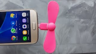 Micro usb fan for andriod smartphone