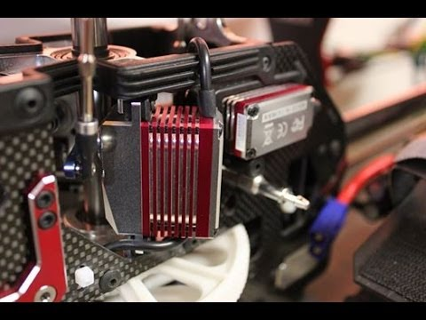 Testing new Align BL855H Cyclic Servos - Colin Bell