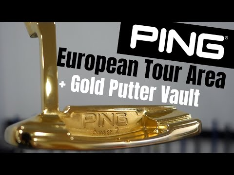 PING Factory - European Tour Department & Gold Putter Vault !
