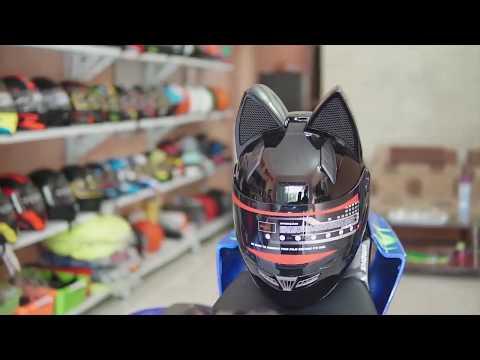 Mũ bảo hiểm tai mèo