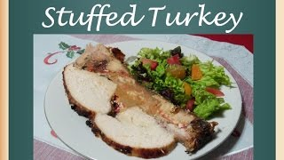 Stuffed Turkey Recipe Easy New Year Eve 2015 Recipes