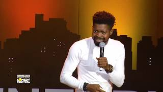 Basketmouth Nigeria - Church - Johannesburg International Comedy Festival 2017