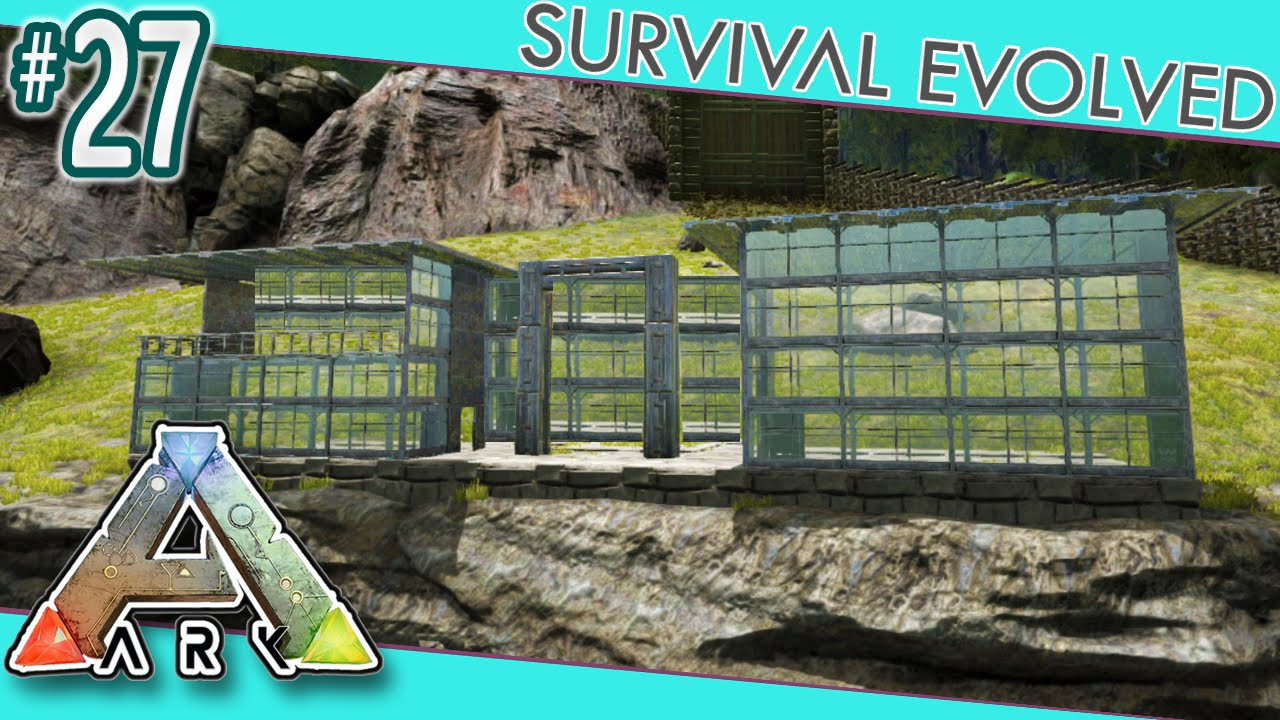 K: Survival volved - Modern House Build! S327 - Youube - ^