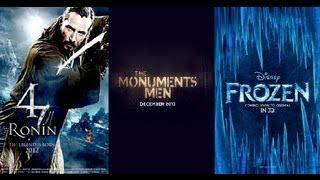 Trailer Thursdays: 47 Ronin, The Monuments Men, Disney's Frozen