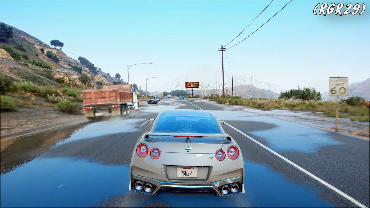 GTA 5 New Ultra Graphics Real 8K Gameplay! - Grand Theft Auto 5 PC 8K 60FPS  4320P
