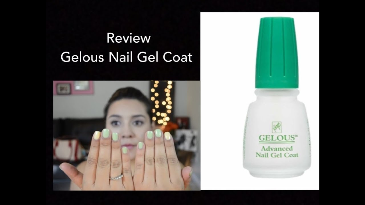 Review: Gelous Nail Gel Coat - YouTube