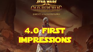 Knights of The Fallen Empire First Impressions