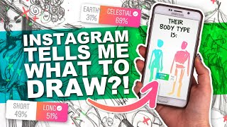 ITS YOUR FAULT! l๐l | Instagram Followers Tell Me What to Draw! | Character Design
