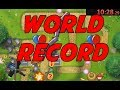 WORLD RECORD!! SPEED RUN - BTD5 Monkey Lane