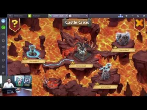 Castle Clash Alpha Male Live Stream