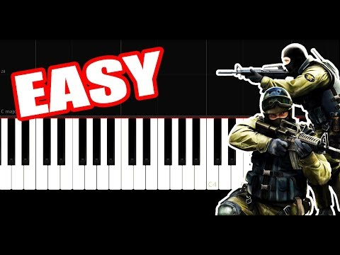 Cs Go - Theme Song - EASY - PIano Tutorial by VN thumbnail