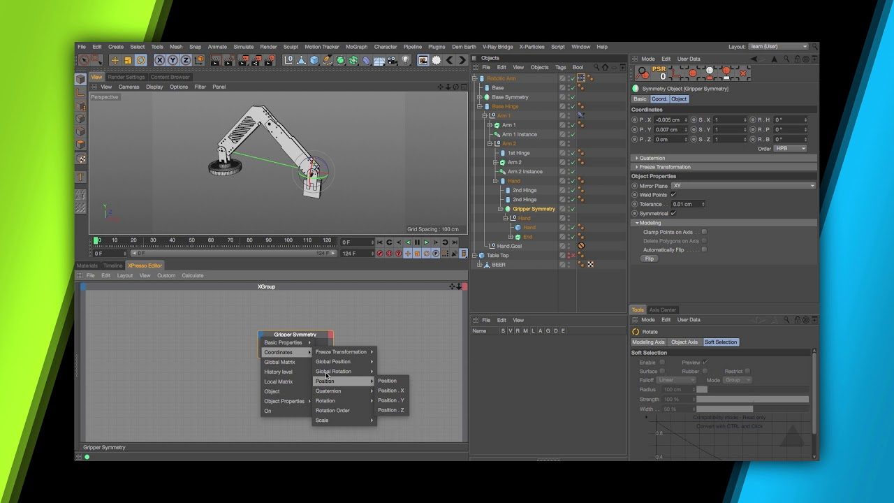 helloluxx Cinema 4D R18 Rigging