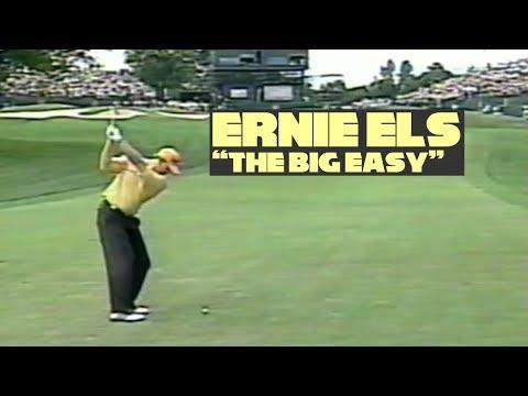 Ernie Els Swings 2002 PGA Championship