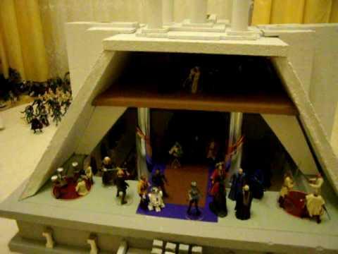 Jedi Temple Interior Diorama Playset Star Wars Custom Fan