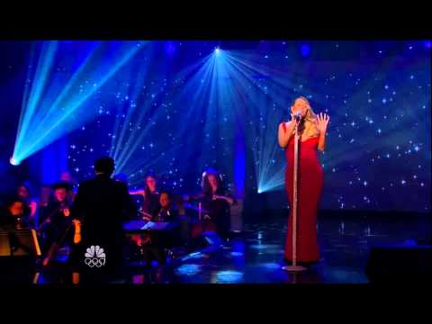 """[HD] MARIAH CAREY-""""Christmas Time Is In The Air Again""""-Live:Michael Bublé's"""