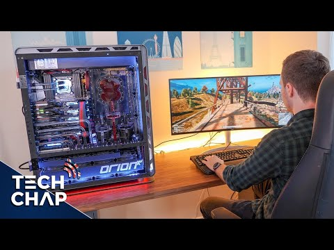 The ULTIMATE $30,000 Gaming PC! 😮 | The Tech Chap