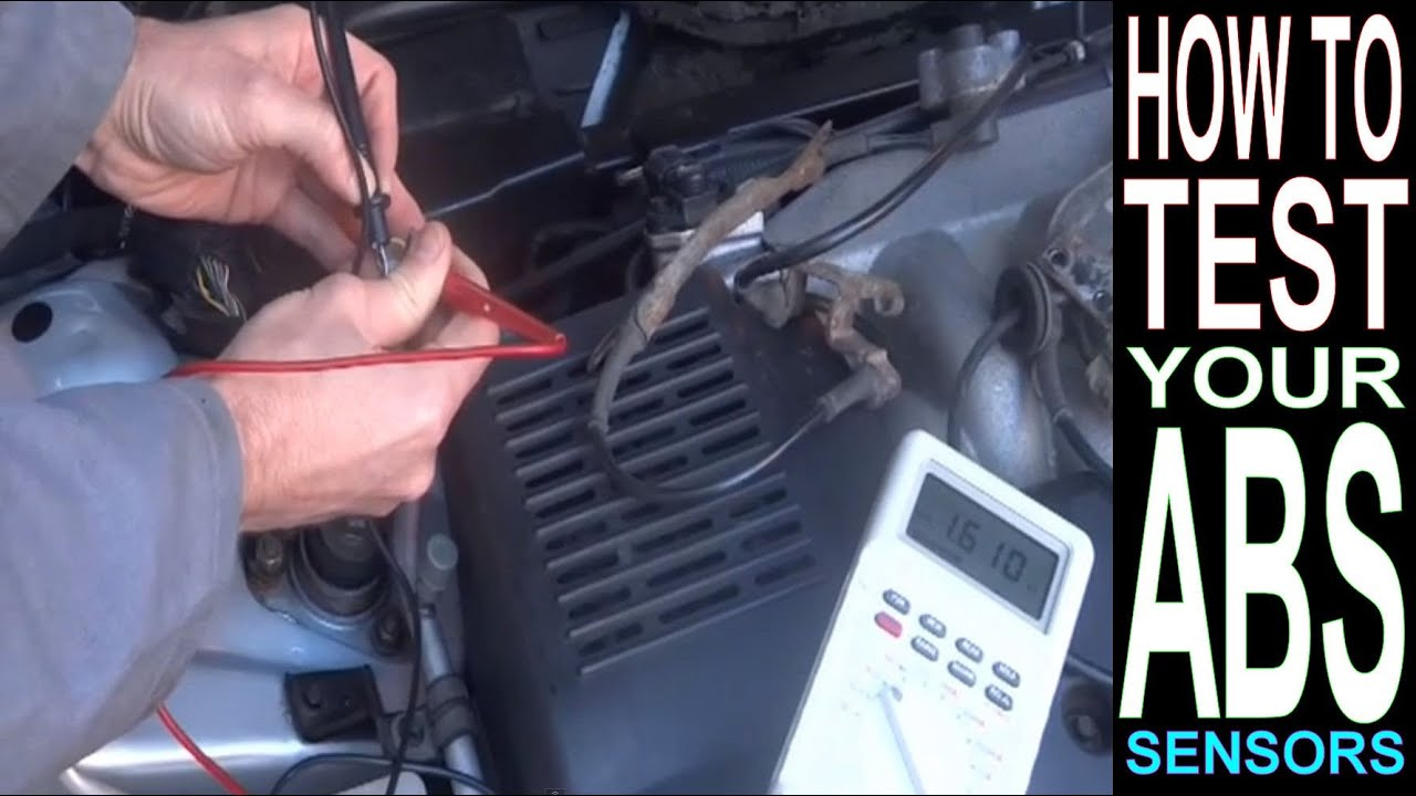 Pontiac Wiring Harness Diagram Abs Light On How To Test Abs Sensor With Multimeter Car