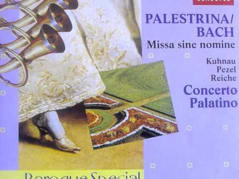 Palestrina/Bach, Missa sine nomine, Kyrie