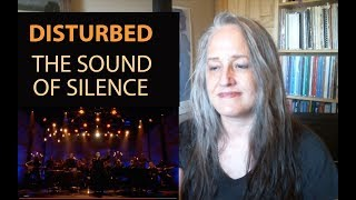 Voice Teacher Reaction to Disturbed - The Sound of Silence | David Draimen