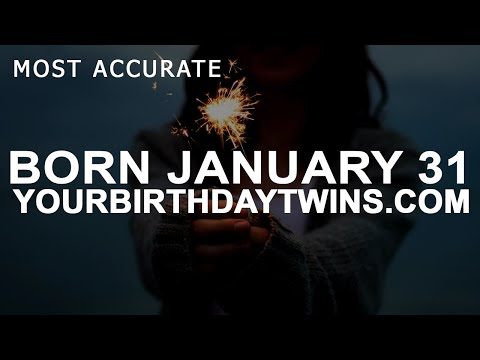 Born On January 31 | Birthday | #aboutyourbirthday | Sample