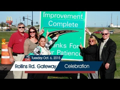 Rollins Road Gateway Completion Ceremony