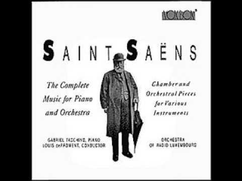 GABRIEL TACCHINO plays SAINT-SAENS Rhapsodie d'Auvergne, Op.73 (1977)