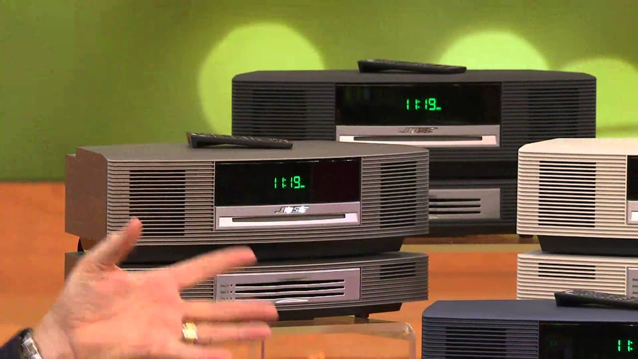 Bose Wave Music System III and Multi-CD Changer with Rick Domeier