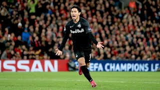 Takumi Minamino's brilliant Anfield performance | All-action Champions League display