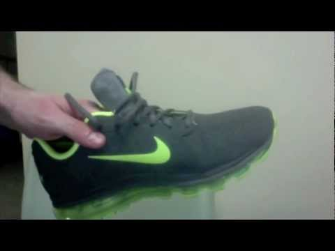 Nike Air Max 2011 Review Leather Menu0027s running shoes - YouTube